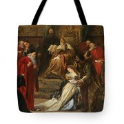 Cordelia In The Court Of King Lear, 1873 Tote Bag