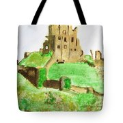 Corfe Castle Tote Bag