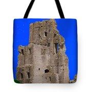 Corfe Castle Ruins Tote Bag