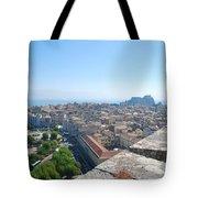 Corfu City Tote Bag