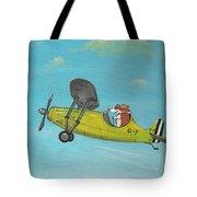 Corgi Aviator Tote Bag