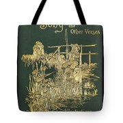 Coridons Song And Other Verses Tote Bag