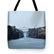 Corinth Canal Tote Bag