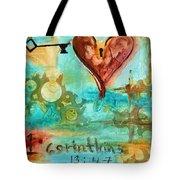 1 Corinthians 13 Tote Bag