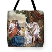 Coriolanus And His Mother Volumnia Tote Bag