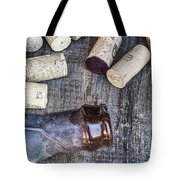 Corks With Bottle Tote Bag