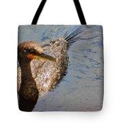 Cormorant After A Swim Tote Bag