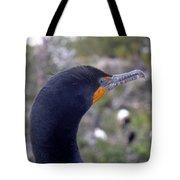Cormorant Close-up Tote Bag