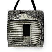 Corn Crib In Monochrome Tote Bag
