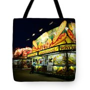 Corn Dog Kiosk Tote Bag