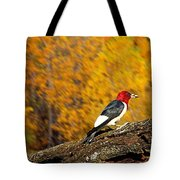 Corn Fed Woodpecker Tote Bag