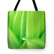Corn Lily Leaf Detail Yosemite Np California Tote Bag