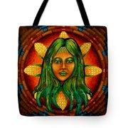 Corn Maiden Tote Bag