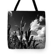Corn Maze 01 Bw Tote Bag