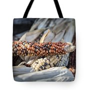 Corn Of Many Colors Tote Bag by Caitlyn  Grasso