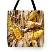 Corn Shock - Sign Of Autumn Tote Bag