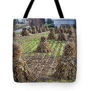 Corn Shocks Amish Field Tote Bag