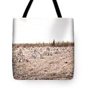 Corn Shocks Tote Bag by Maggy Marsh