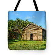 Corncrib In Afternoon Light Tote Bag