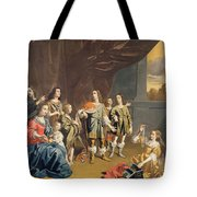 Cornelia And Her Jewels Oil On Canvas Tote Bag