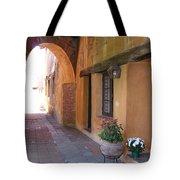 Corner Arch, Mission San Juan Capistrano, California Tote Bag