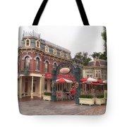 Corner Cafe Main Street Disneyland 02 Tote Bag