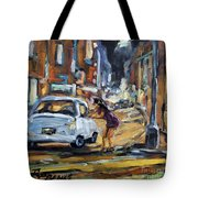 Corner Deal By Prankearts Tote Bag