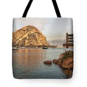 Corner Harbor Tote Bag
