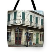 Corner Of St. Peter And Dauphine Tote Bag