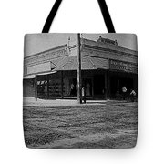 Corner Of Stone And W. Congress Street 180 Degrees Panorama Tucson Arizona C.1905 Tote Bag