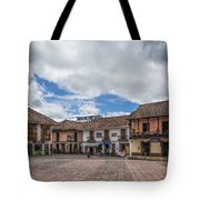 Corner Square Tote Bag