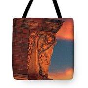 Corner Sunset Tote Bag