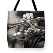 Cornet In Sepia Tote Bag