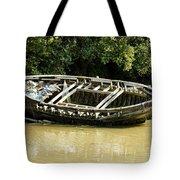 Cornish Shipwreck Tote Bag