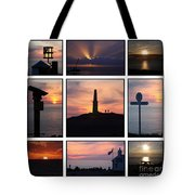 Cornish Sunsets Tote Bag