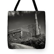 Cornish Tin Mine. Tote Bag