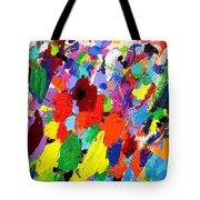 Cornucopia Of Colour I Tote Bag