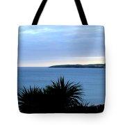 Cornwall Coast Subdued Sunset Tote Bag