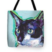Corny Kitty Tote Bag