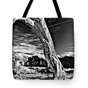 Corona In Black And White Tote Bag
