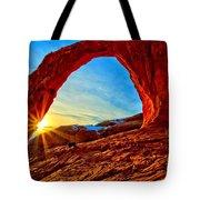 Corona Sun Burst Tote Bag