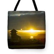 Coronado's Beach At Sunset Tote Bag
