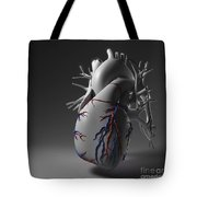Coronary Vessels Tote Bag