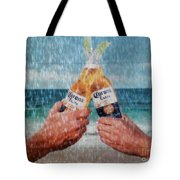 Coronas In The Rain Tote Bag