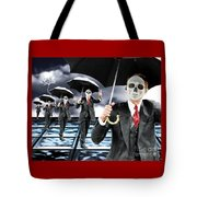 Corporate Matrix Clones Tote Bag