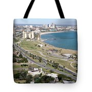 Corps Christi Skyline Tote Bag