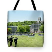 Corps Of Cadets Present Arms Tote Bag