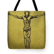 Corpus Christi And Dove Tote Bag