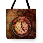 Corroded Time Tote Bag