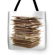 Corrugated Fiberboard Tote Bag by Fabrizio Troiani